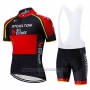 2020 Cycling Jersey Mitchelton Scott Champion China Short Sleeve and Bib Short