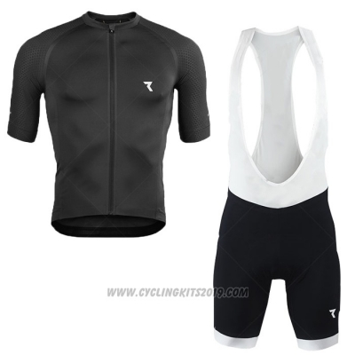2020 Cycling Jersey Ryzon Black Short Sleeve and Bib Short