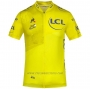 2020 Cycling Jersey Tour de France Yellow Short Sleeve and Bib Short(2)