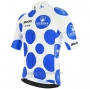 2020 Cycling Jersey Vuelta Espana Blue White Short Sleeve and Bib Short