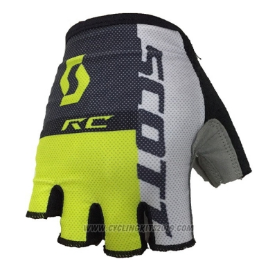 2020 Scott Gloves Cycling Black Gray Yellow