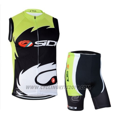 2014 Wind Vest SIDI Black and Green