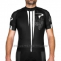 2016 Cycling Jersey Pinarello Black and White Short Sleeve and Bib Short