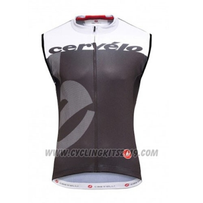 2016 Wind Vest Castelli Black and White