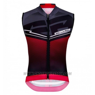 2016 Wind Vest Santini Black and Red