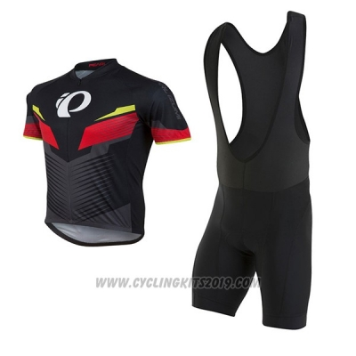 2017 Cycling Jersey Pearl Izumi Red and Black Short Sleeve and Bib Short
