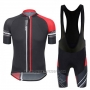 2017 Cycling Jersey Santini Airform Red Short Sleeve and Bib Short