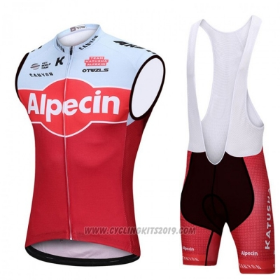 2018 Wind Vest Katusha Alpecin Red