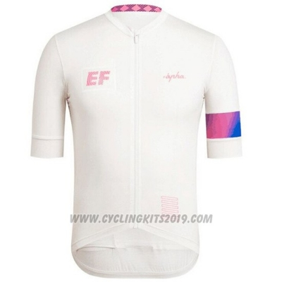 2019 Cycling Jersey Rapha White Short Sleeve and Bib Short