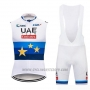 2019 Wind Vest Uae White White Blue