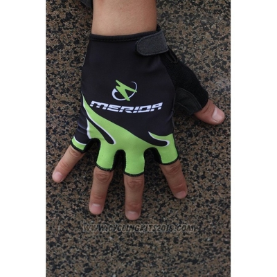 2020 Merida Gloves Cycling Black Green