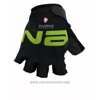 2020 Nalini Gloves Cycling Black Green (2)