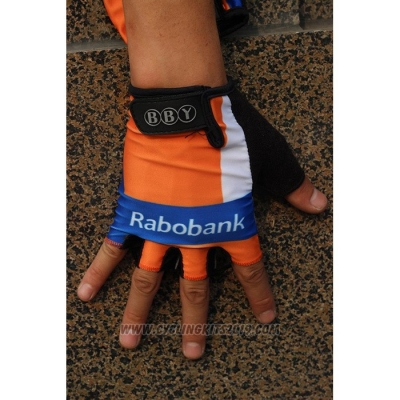 2020 Rabobank Gloves Cycling Orange