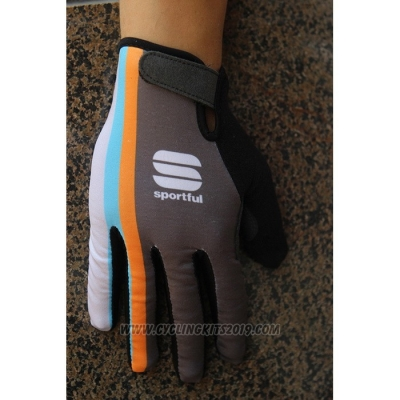2020 Sportful Full Finger Gloves Gray