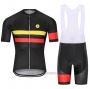 2021 Cycling Jersey Steep Red Yellow Short Sleeve and Bib Short