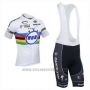 2013 Cycling Jersey UCI Mondo Campione Lider Quick Step Short Sleeve and Bib Short