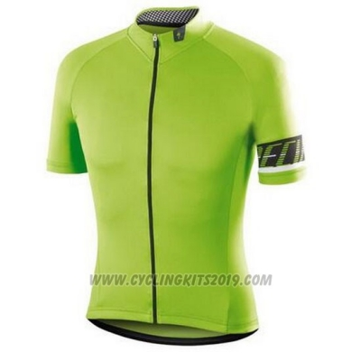 2016 Cycling Jersey Specialized Green and Black Short Sleeve and Bib Short