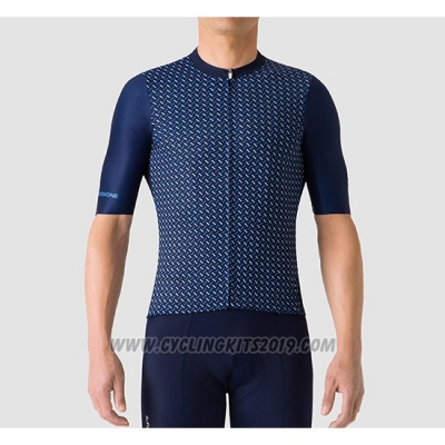2019 Cycling Jersey La Passione Blue Short Sleeve and Bib Short