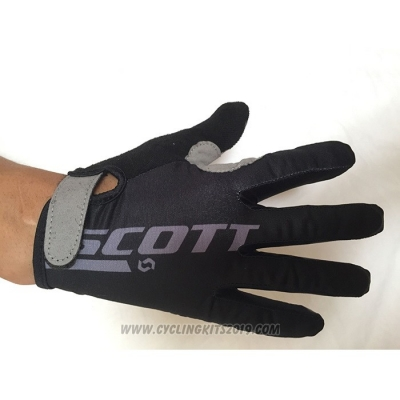 2020 Scott Full Finger Gloves Gray