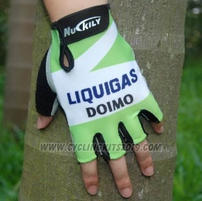 2011 Liquigas Gloves Cycling Green