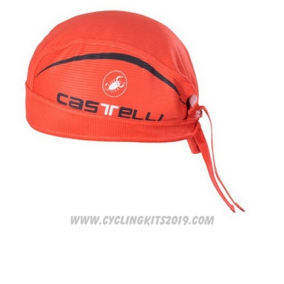 2012 Castelli Scarf Cycling Red