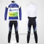 2012 Cycling Jersey GreenEDGE Campione Oceania Long Sleeve and Bib Tight