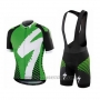 2016 Cycling Jersey Specialized Green Short Sleeve and Bib Short