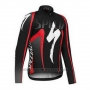 2016 Cycling Jersey Specialized Ml Black and Red (2) Long Sleeve and Bib Tight