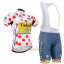2016 Cycling Jersey Tinkoff Red and Lider White Short Sleeve and Bib Short