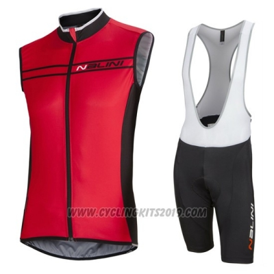 2016 Wind Vest Nalini Black and Red