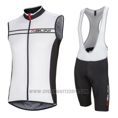 2016 Wind Vest Nalini White and Black