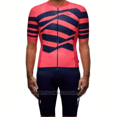 2017 Cycling Jersey Maap M-flag Pro Red Short Sleeve and Bib Short