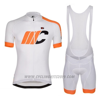 2018 Cycling Jersey Cipollini Easy Bianchi and Orange Short Sleeve and Bib Short