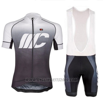 2018 Cycling Jersey Cipollini Shading Gray Short Sleeve and Bib Short