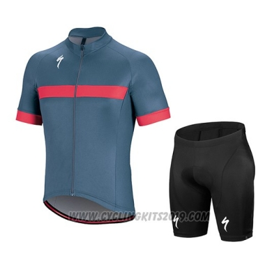 2018 Cycling Jersey Specialized Gray Pink White Short Sleeve and Bib Short