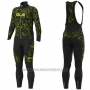 2019 Cycling Jersey ALE Camouflage Long Sleeve and Bib Tight