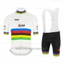 2020 Cycling Jersey UCI World Champion Segafredo Zanetti Short Sleeve and Bib Short