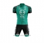 2020 Cycling Jersey Vital Concept-bb Hotels White Green Short Sleeve and Bib Short(1)