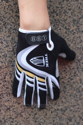 Trek Full Finger Gloves Cycling Black