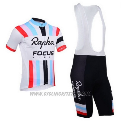 2013 Cycling Jersey Rapha White Short Sleeve and Bib Short