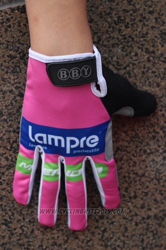 2014 Lampre Full Finger Gloves Cycling