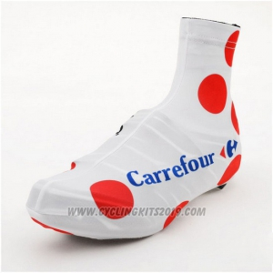 2015 Tour de France Shoes Cover Cycling White and Red