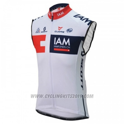 2016 Wind Vest IAM White and Blue