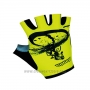 2017 Aogda Gloves Cycling Yellow and Black