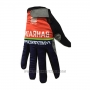 2017 Bahrain Merida Full Finger Gloves Cycling