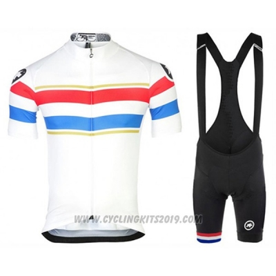 2017 Cycling Jersey Assos Campione Netherlands Short Sleeve and Bib Short
