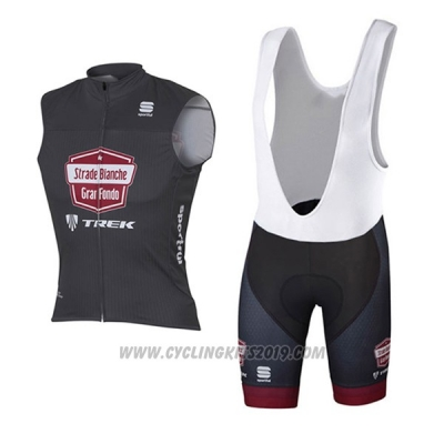 2017 Wind Vest Strade Bianche Black