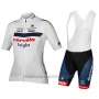 2018 Cycling Jersey Cervelo Bigla White Black Short Sleeve and Bib Short