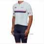 2019 Cycling Jersey Maap Nationals White Short Sleeve and Bib Short