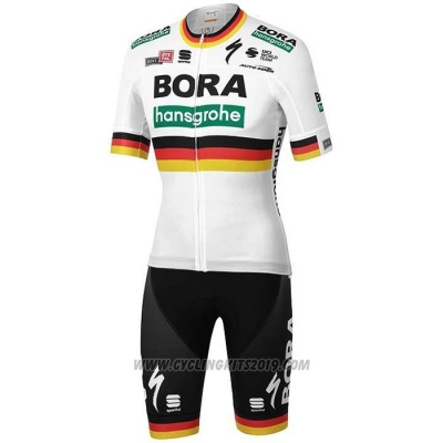 2020 Cycling Jersey Bora Champion Germany Short Sleeve and Bib Short
